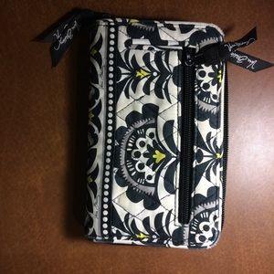 "Handbags - Vera Bradley zippered wallet 5""x8"" shows some wear"